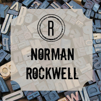 Norman Rockwell - Blogging Through the Alphabet on Homeschool Coffee Break @ kympossibleblog.blogspot.com