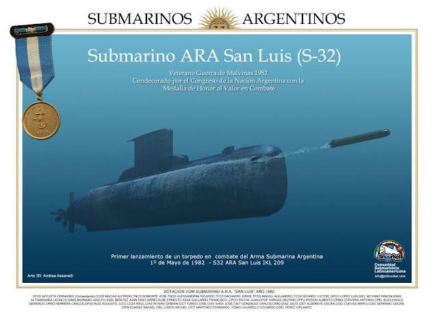 ¿Listas para el combate? Armas submarinas en Malvinas 1982