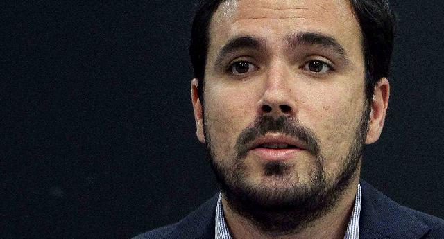 "Alberto Garzón: ""Se está vulnerando la libertad de expresión con ánimo de proteger a la Casa Real"""