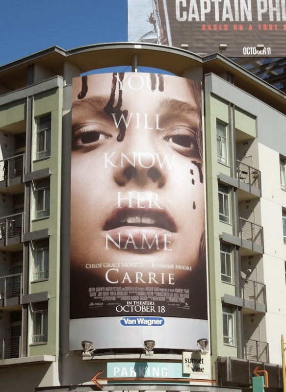 Carrie Know Her Name movie billboard
