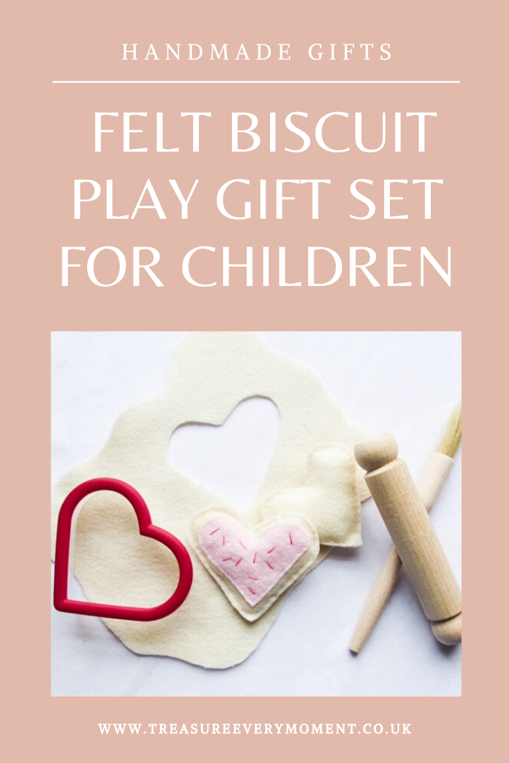 HANDMADE GIFTS: Felt Biscuit Play Gift Set for Children