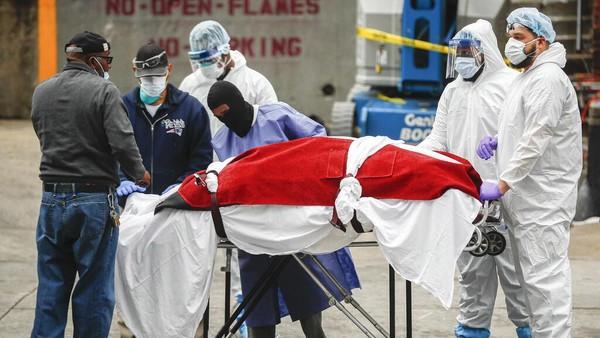 Corona Tewaskan 3.176 dalam Sehari, Total Kematian di AS Hampir 50.000