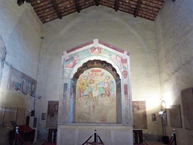 tabernacolo dei giustiziati chiesa santi tommaso e prospero certaldo