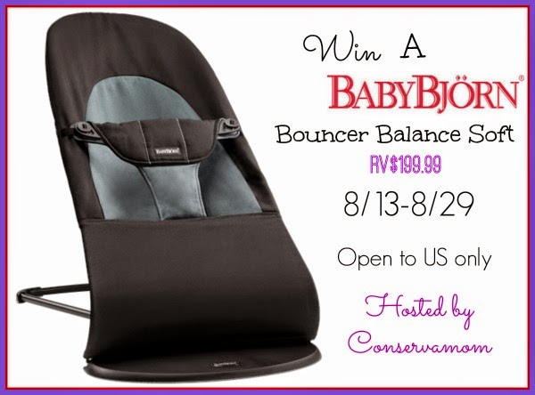 96a6e1152df The Mommy Island  Comfort Baby With BabyBjorn Bouncer  Giveaway