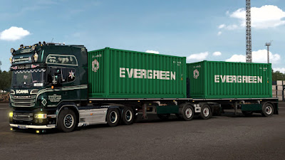 ARNOOK'S SCS CONTAINERS SKIN PACK V8.0 - ETS2 1.40