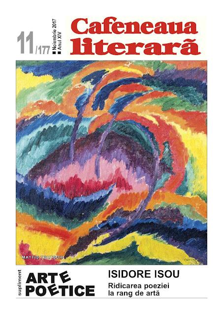 Cafeneaua literară, nr. 11/2017. Semnal: Oameni și cărți, poeme și arte libere