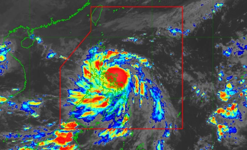 'Quinta' intensifies into a typhoon