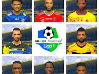 PES 2017 Liga 1 Gojek Traveloka Facepack dari Utomo