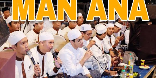 Lirik Man Ana Laulakum Versi Indonesia - Ahbabul Musthofa Lamongan