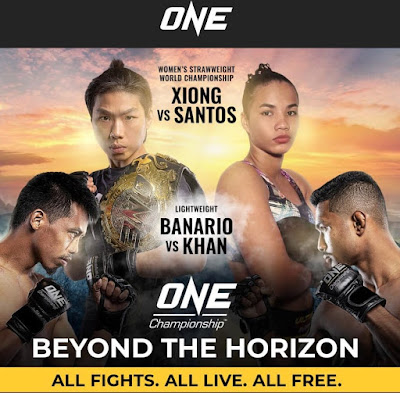 One Championship : Beyond the horizon Results