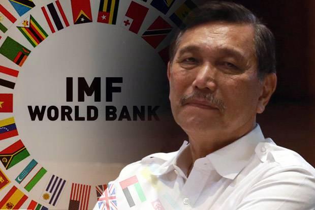 Jokowi Tunjuk Luhut Untuk Pimpin Sidang World Bank-IMF, Wibawa RI Runtuh Di Mata Dunia !