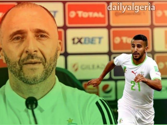 المنتخب الجزائري - تصفيات كاس امم افريقيا2021 - رياض محرز - بلماضي