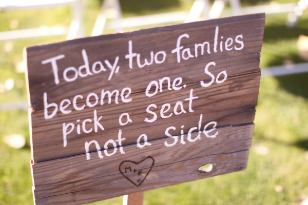 5 Traditions You Can (or Should) Skip from Oh Lovely Day | having a bride's side and a groom's side