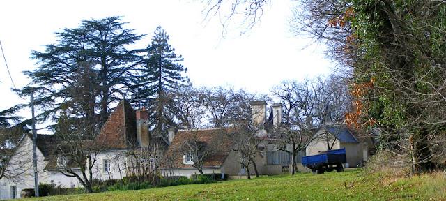 Chateau de Bouferre, Indre et Loire, France. Photo by Loire Valley Time Travel.