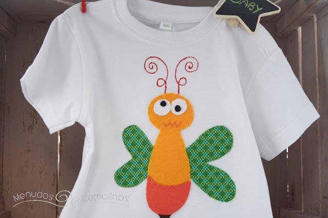 Camiseta avispa loca (delantera)