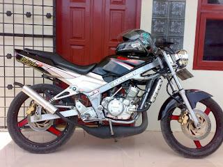 Modifikasi awal Ninja 150R
