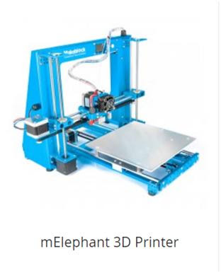 mElephant 3D Printer