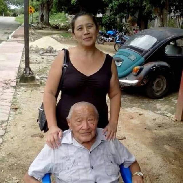 De esclavo a Patriota: el coreano que no se sentaba a comer. Ligia Kim y su padre Clemente.