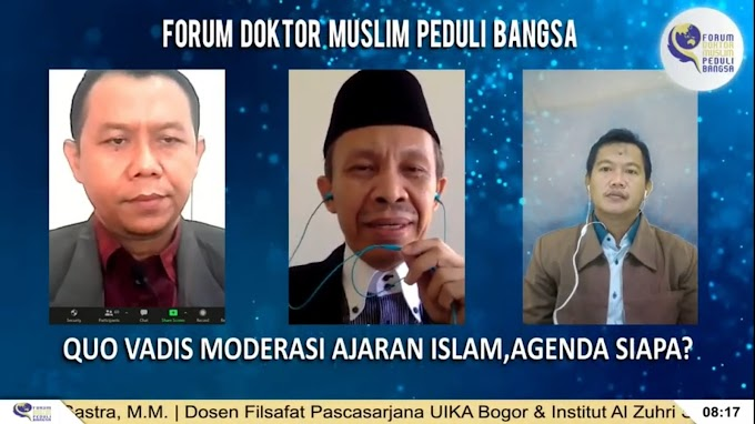 Ratusan Intelektual Muslim Berhimpun Mengkritisi Rancangan Moderasi Ajaran Islam