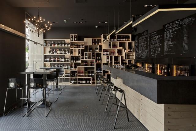 kaper design restaurant hospitality design inspiration divino wine bar. Black Bedroom Furniture Sets. Home Design Ideas