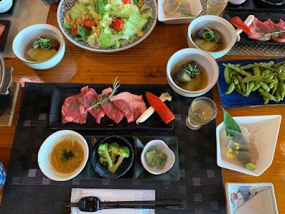 高峰温泉 夕食
