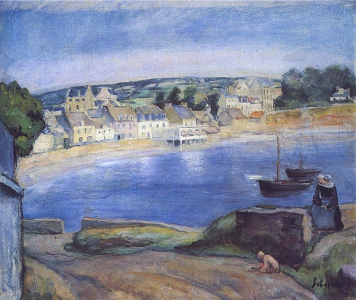 Henri Lebasque 1865–1937 | French painter | The Post-Impressionist paysages