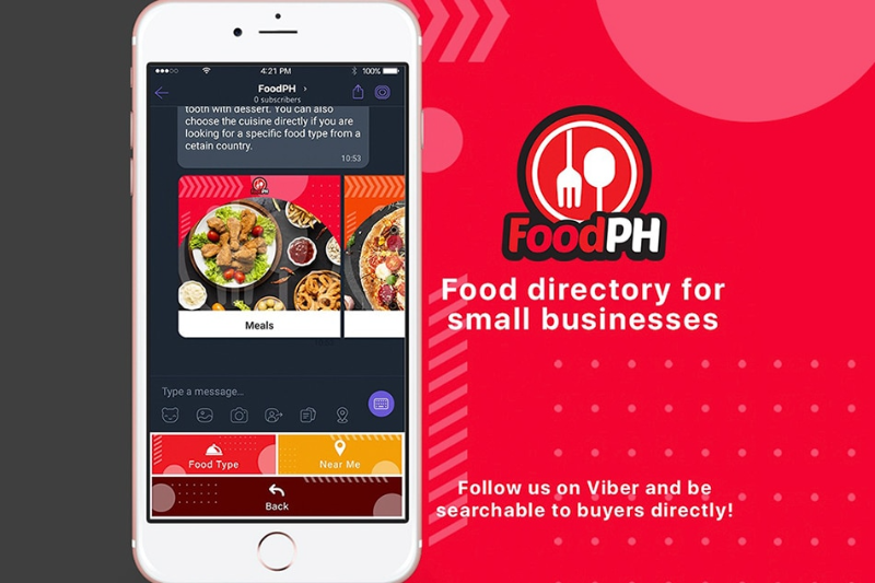 Viber taps GCash to allow QR code payments for FoodPH!