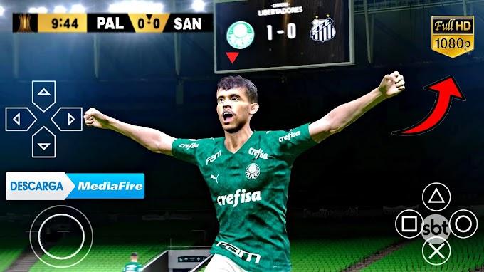 Baixar PES 2021 Libertadores + Mundial, JOGO de FUTEBOL Para PPSSPP ANDROID!