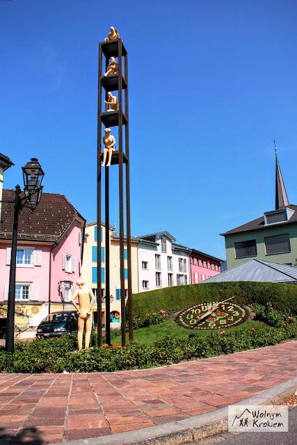 Bad Ragaz Szwajcaria Miasto Sztuki