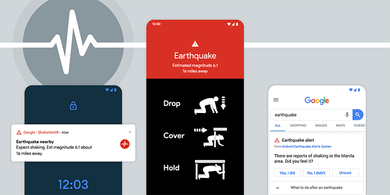 Google rolls out Earthquake Alerts System for Android users in the Philippines!