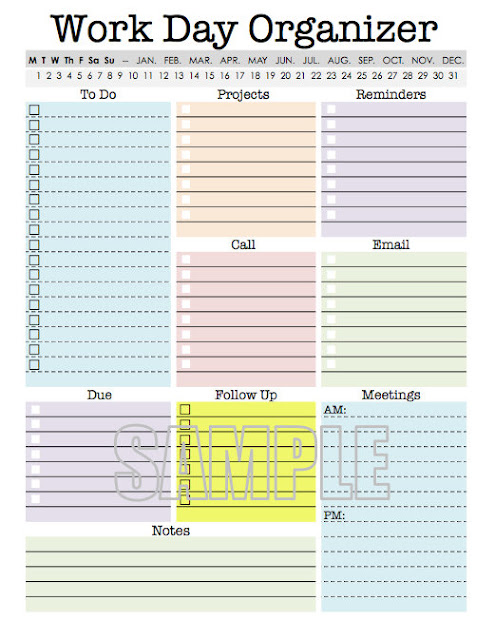 office daily planner template - Onwebioinnovate - daily planning template