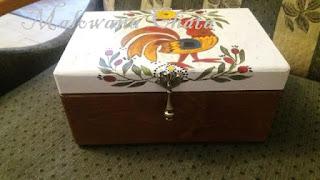 Pudełko na zamowienie z Krakowa P. Ewy