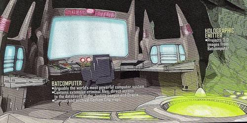 penjelasan tentang batcave dalam komik dc