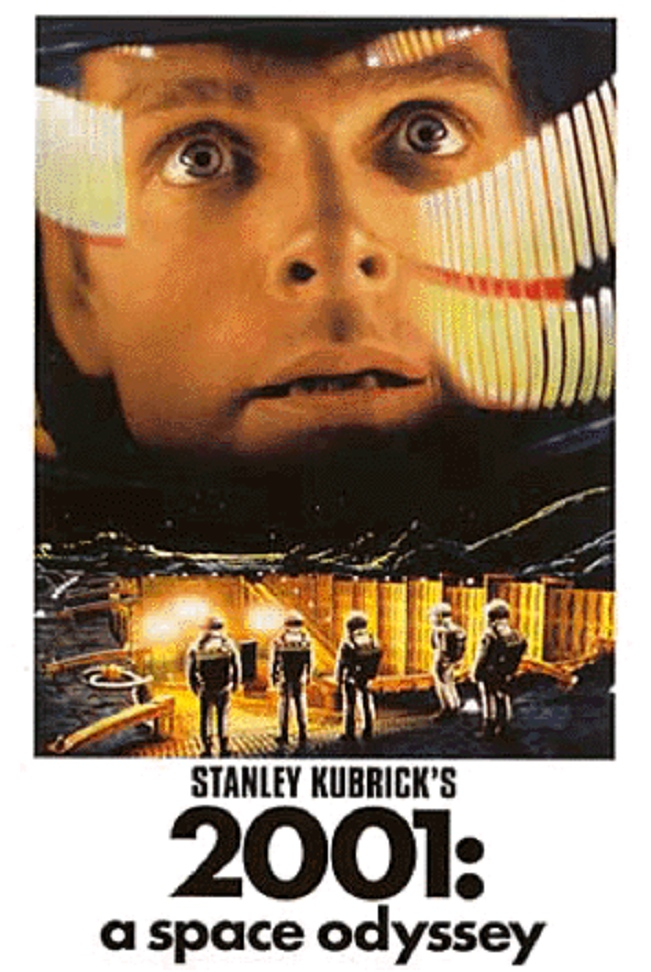 2001 a space odyssey Stanley kubrick's 1968 masterpiece 2001 a space odyssey i skipped the 'true' introduction, the monoloth [a black screen] with a chorus of women screaming a.