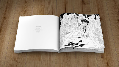 Adventures Outlined Colouring Book Lich
