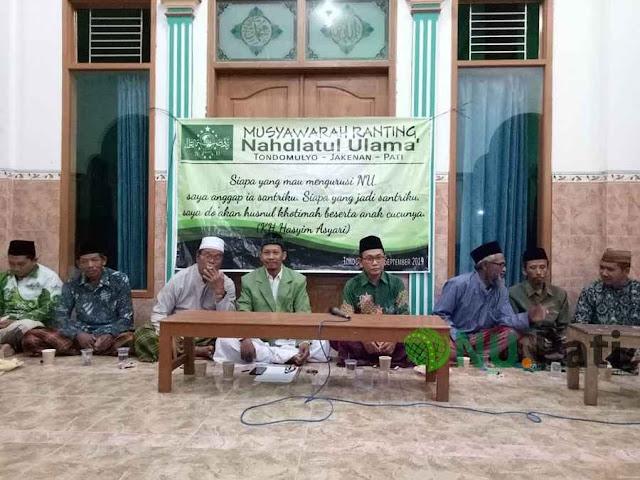 Musyawarah Ranting NU Tondomulyo