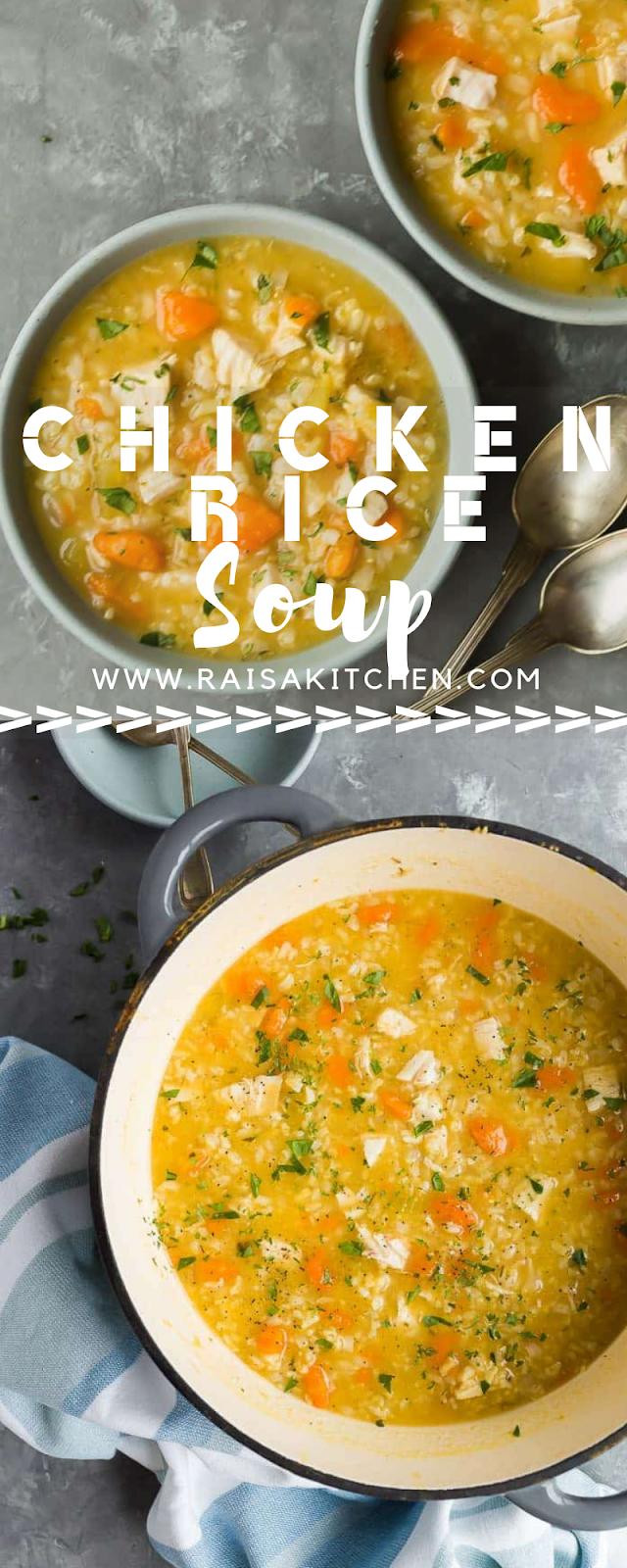Chicken Rice Sоuр