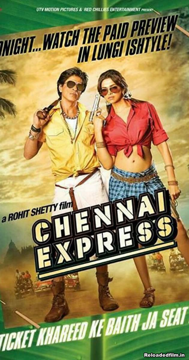 Chennai Express 2013 Full Movie Hindi BRRip 720p, 480p, 1080p