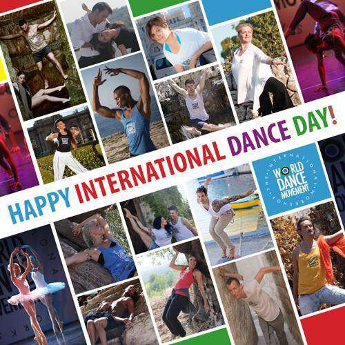 International Dance Day Wishes Images download