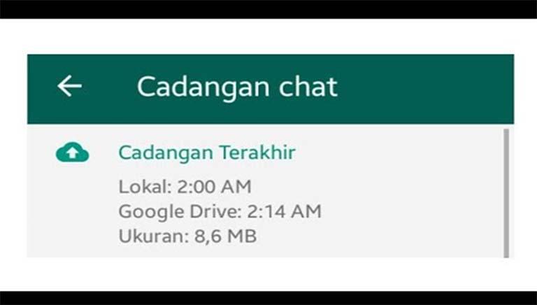 Cara Menghapus Cadangan WhatsApp Di Ponsel Android Dan Google Drive