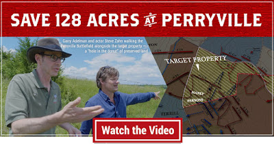 Walk the Perryville Battlefield with Actor Steve Zahn