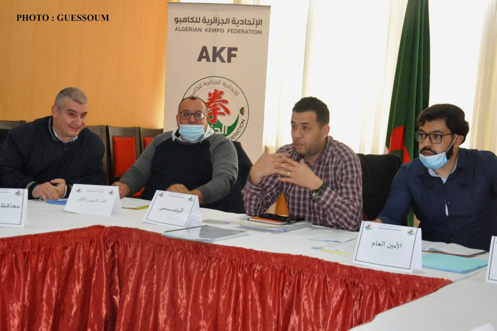 إعادة انتخاب هشام أوحليمة رئيسا للاتحادية الجزائرية للكامبو