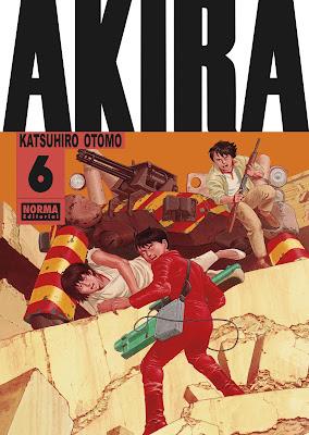 Reseña de AKIRA Edición Original vols. 5 y 6, de Norma Editorial.