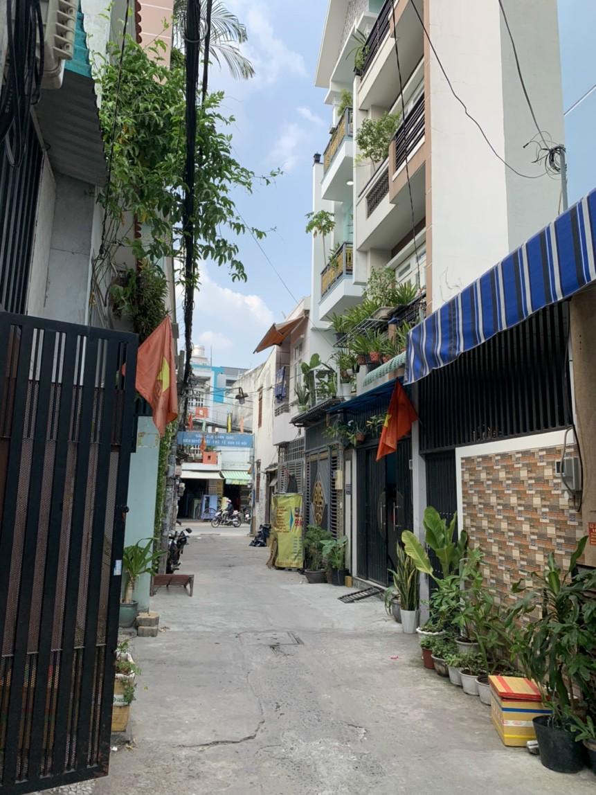 Bán nhà hẻm 155 đường số 12 Bình Hưng Hòa quận Bình Tân dưới 4 tỷ