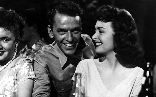 De Aquí a la Eternidad, Fran Sinatra y Donna Reed.