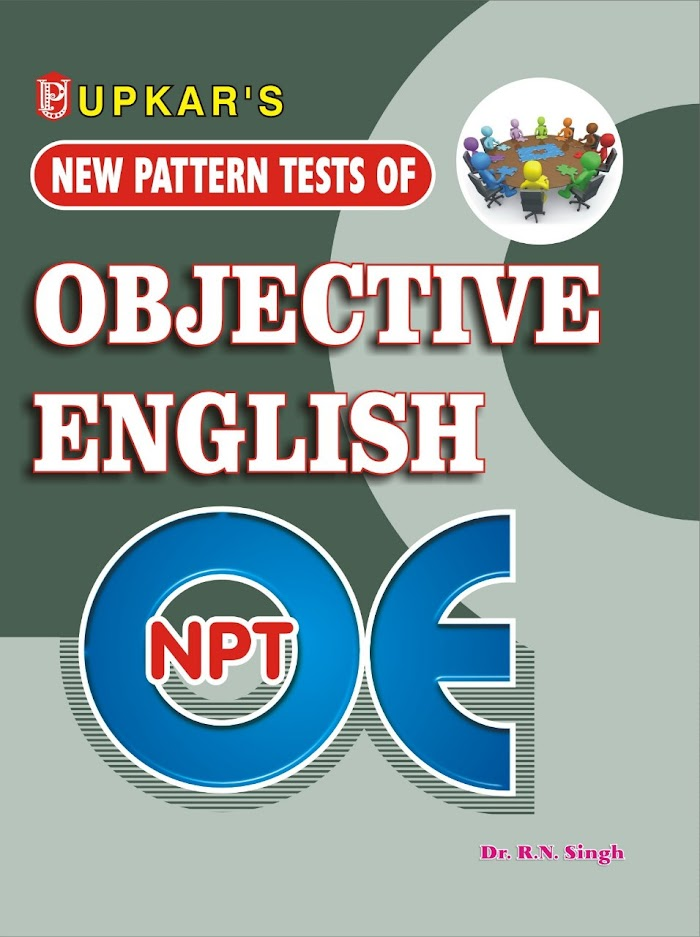 New Pattern Tests of Objective English PDF Download