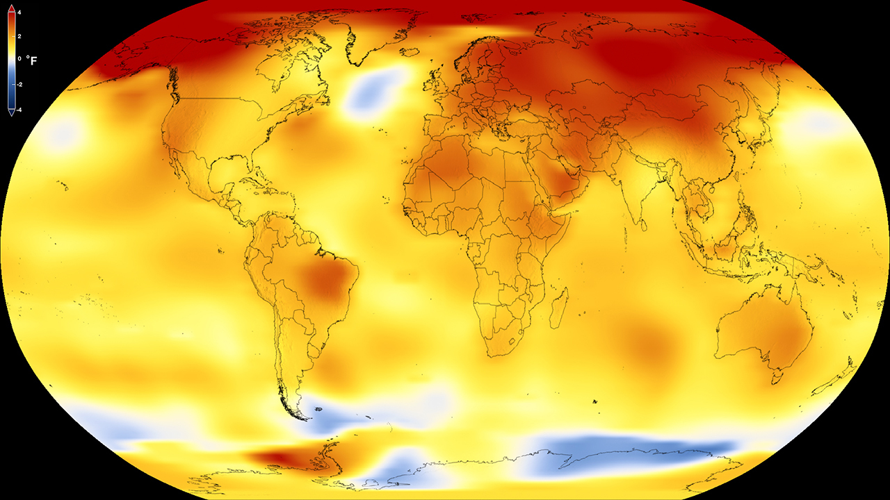 EARTH IS WARMING AT A FASTER RATE