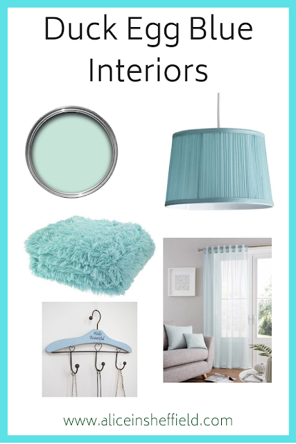 Duck Egg Blue Interiors