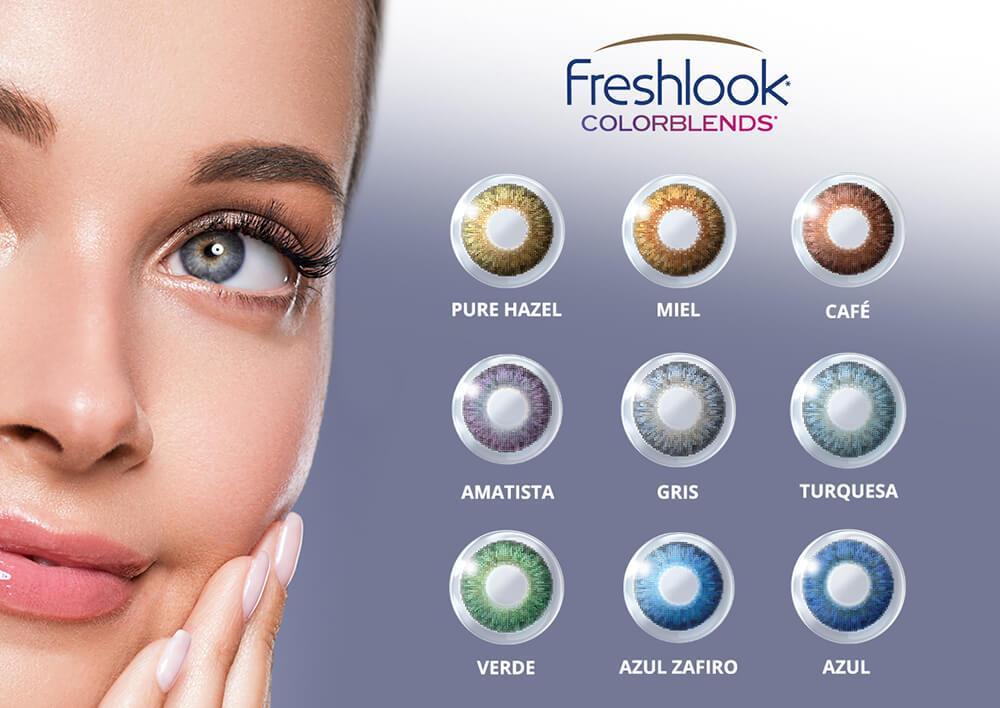 Lentes de Contacto Fresh Look ColorBlens original