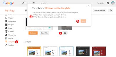 Mobile Blogger Template